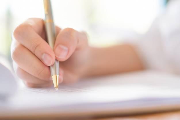 قائمة الكتابة
