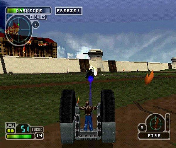 لعبة Twisted Metal لأجهزة PS1