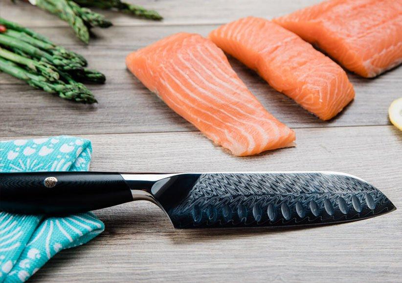 سكين Santoku هو أحد أنواع سكاكين المطبخ
