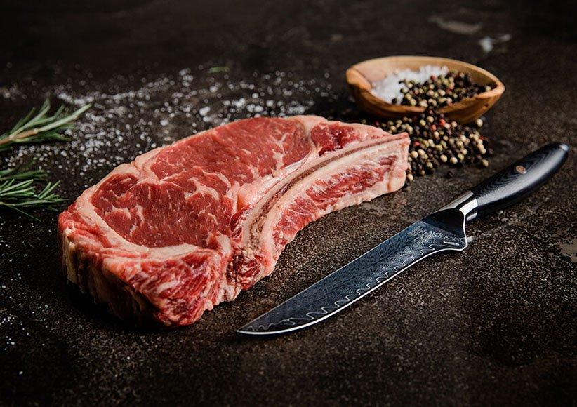 سكين العظام هو أحد أنواع سكاكين المطبخ