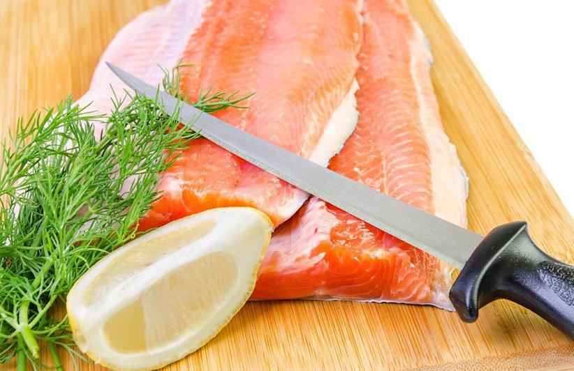 سكين فيليه هو أحد أنواع سكاكين المطبخ