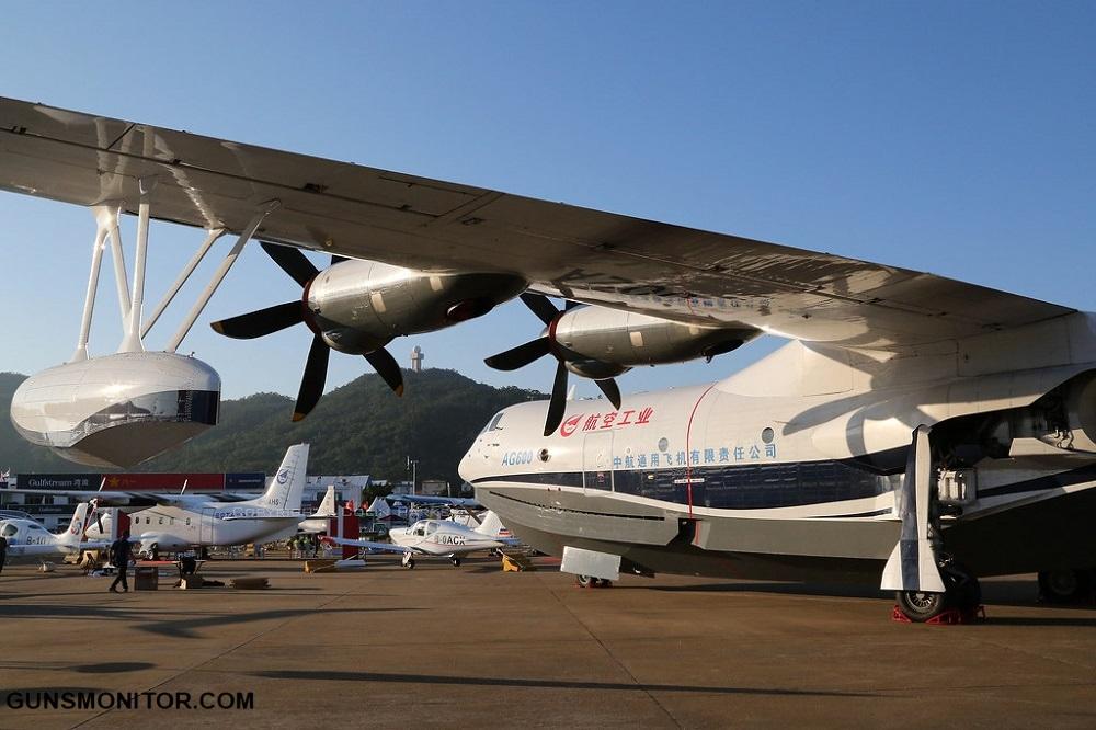 1614333556 263 AG600 ؛ السفينة الطائرة الصينية مراقب البنادق مجلة أكو وب