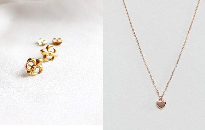 مجوهرات بأسلوب بسيط