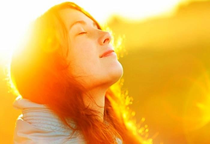 التشيخ الضوئي والتعرض للشمس