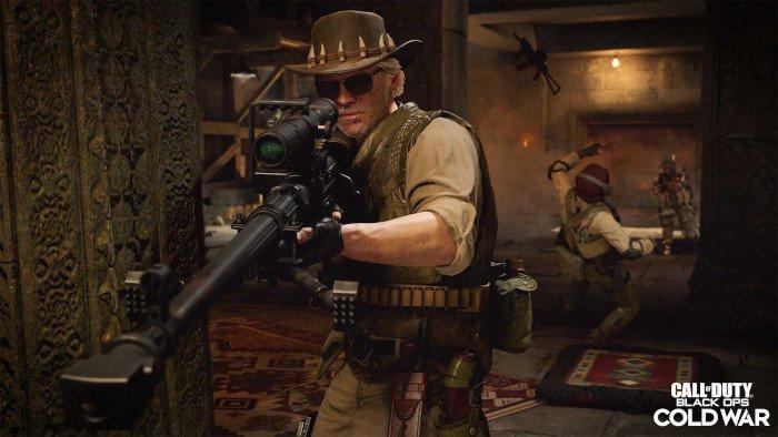 لعبة مثيرة للسخرية من Call of Duty Black Ops Cold War