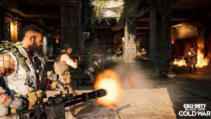 لعبة سخيفة من Call of Duty Black Ops Cold War