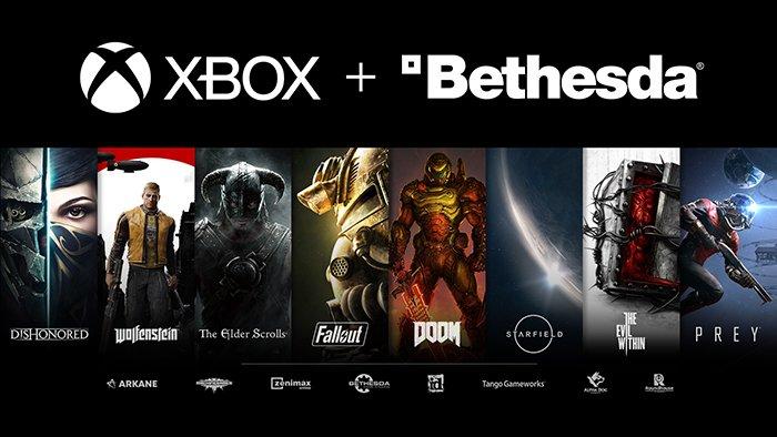 أصبحت Bethesda رسميًا شركة تابعة لمايكروسوفت ؛ بعض الألعاب حصرية أكو وب