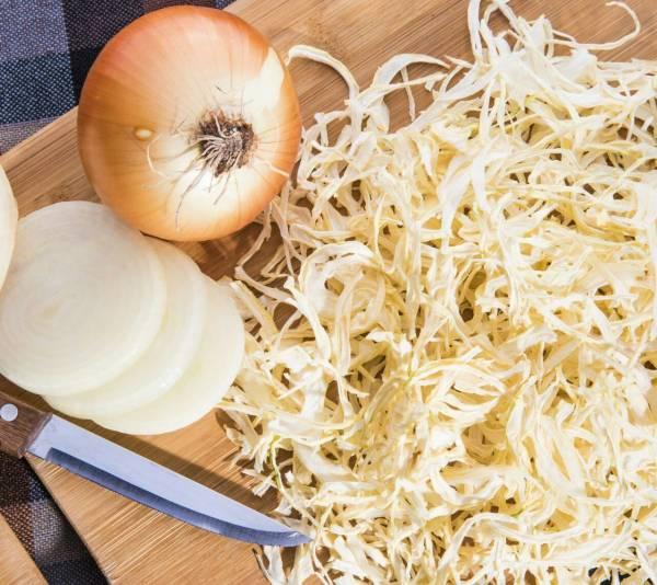 طريقة تحضير مسحوق البصل