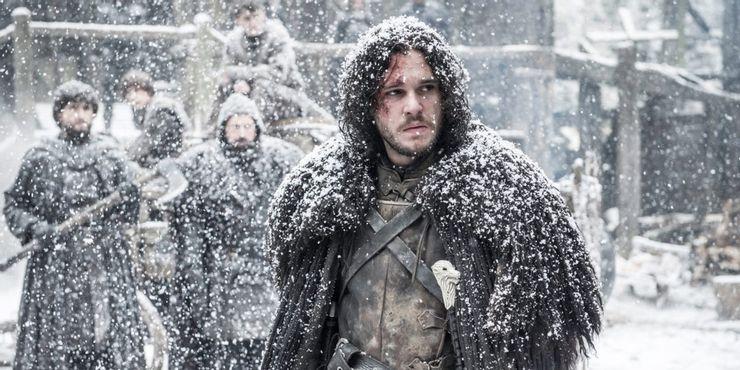 جون سنو في مسلسل Game of Thrones