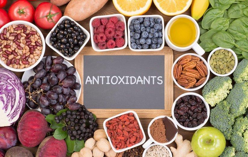 الأطعمة التي تحتوي على مضادات الأكسدة