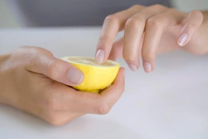 استخدم الليمون