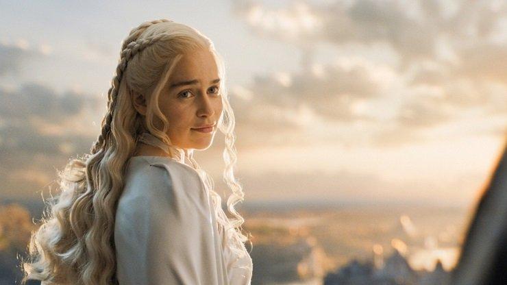 إميليا كلارك في مسلسل Game of Thrones