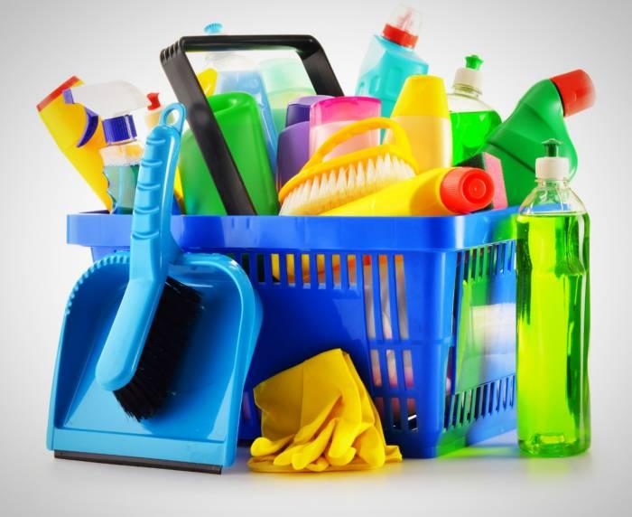الآثار الجانبية للمنظفات
