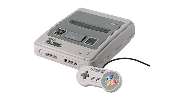 وحدة تحكم لعبة SNES