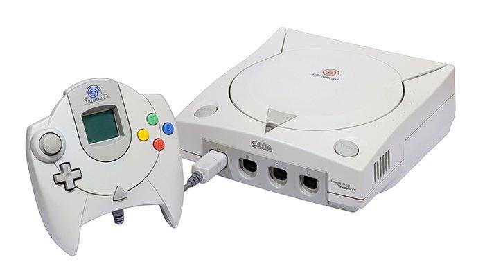 وحدة تحكم لعبة Sega Dreamcast