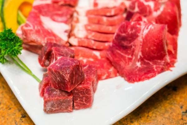 طبقات اللحم