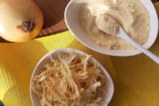 مسحوق البصل محلي الصنع