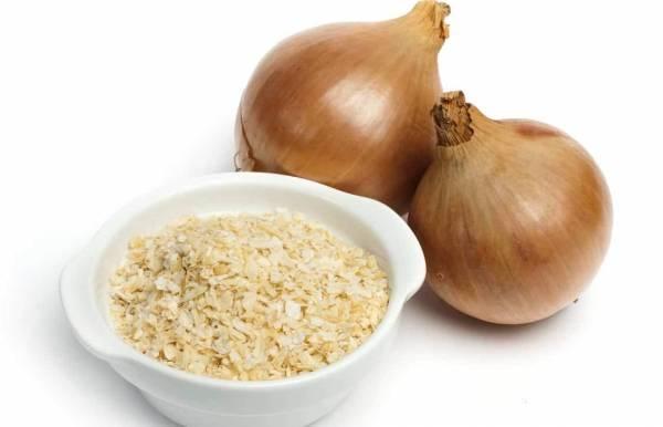 تخزين مسحوق البصل