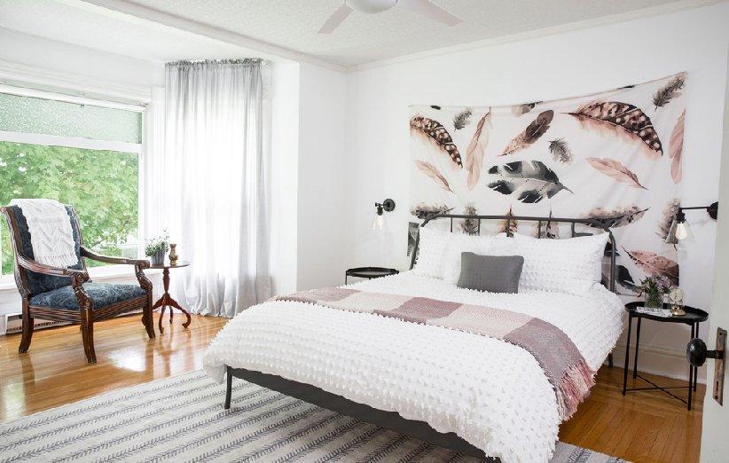 تعتبر غرفة النوم من أقذر أجزاء المنزل