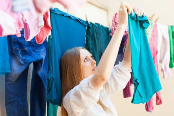 تجفيف الملابس بأنواعها