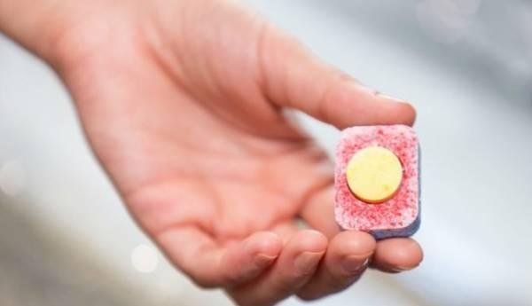 تطبيق أقراص غسالة الصحون