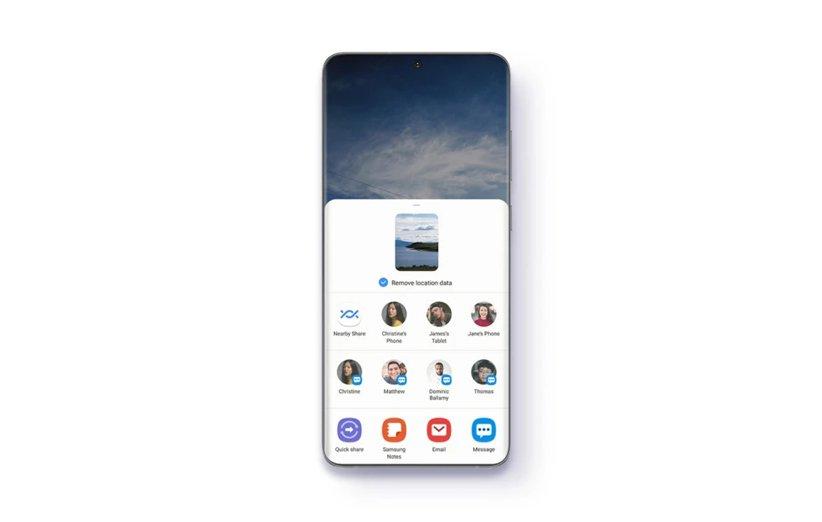 مشاركة Samsung الخاصة في One UI 3.1