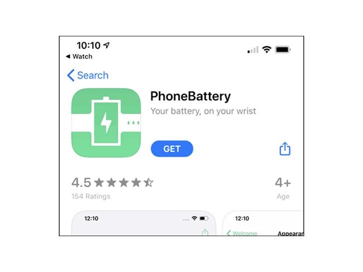 قم بتنزيل تطبيق PhoneBattery من متجر التطبيقات