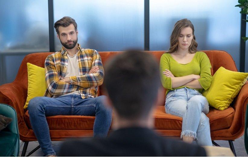 جلسة علاج زوجين