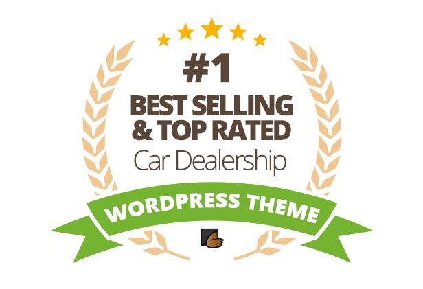 موضوع WordPress لبيع السيارات في مجال السيارات - 1