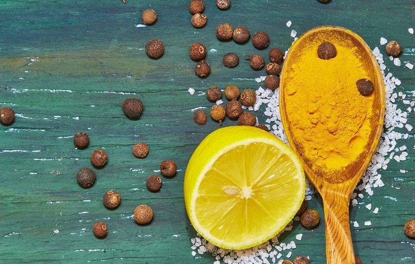 ماسك للوجه بالكركم والليمون