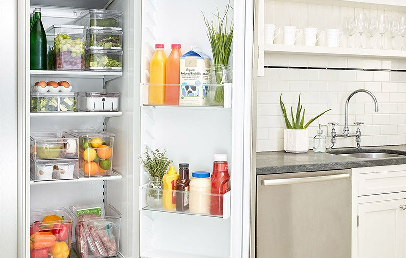 الفرز داخل الثلاجة