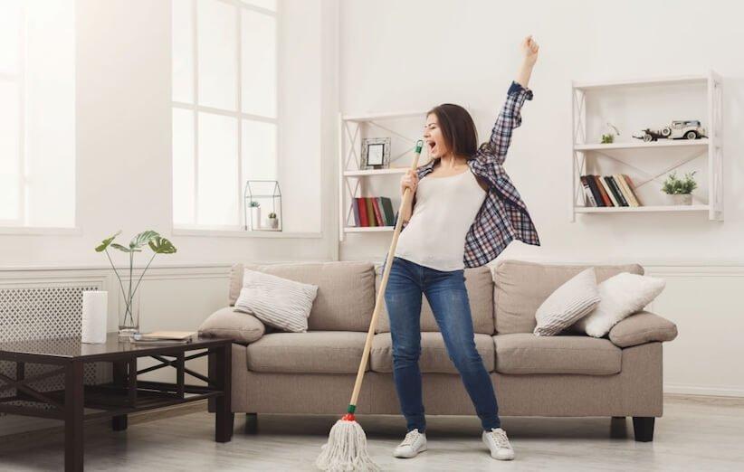 الرش - متعة التنظيف