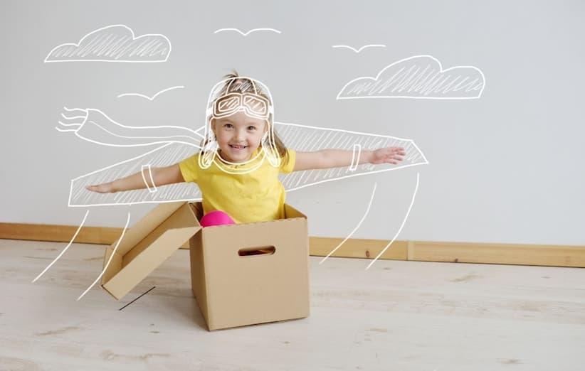 تربية طفل مبدع - الإبداع مع الصندوق