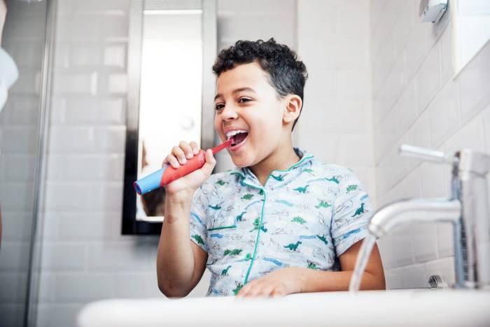 فرشاة أسنان مناسبة للأطفال