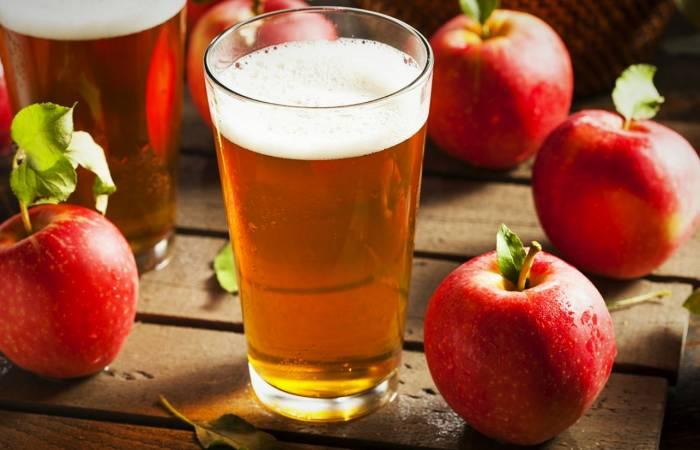 تفاح في نكهة الليمون