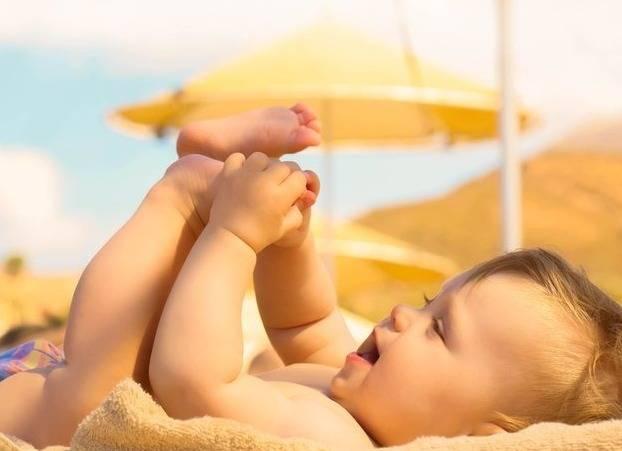 الشمس المشرقة للأطفال
