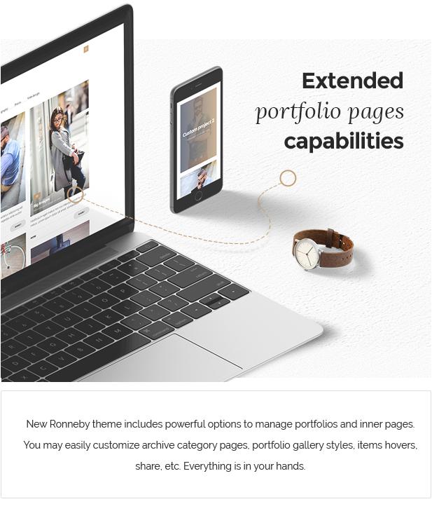Ronneby - سمة WordPress عالية الأداء - 6