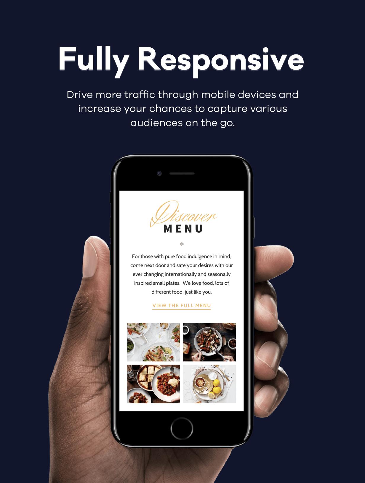 روزا 1 - ثيم WordPress للمطعم الرائع - 2