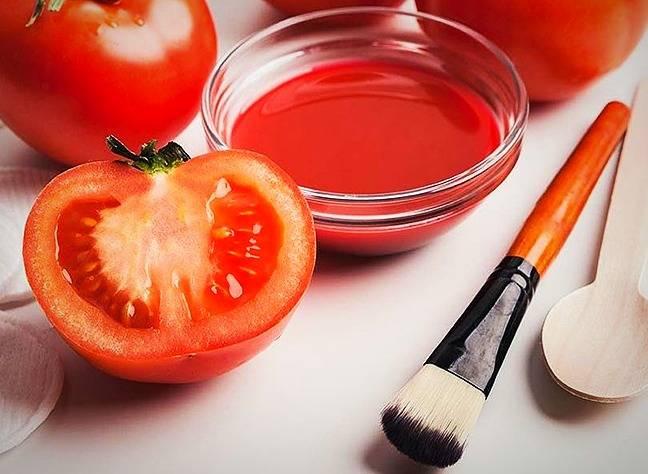قناع الطماطم
