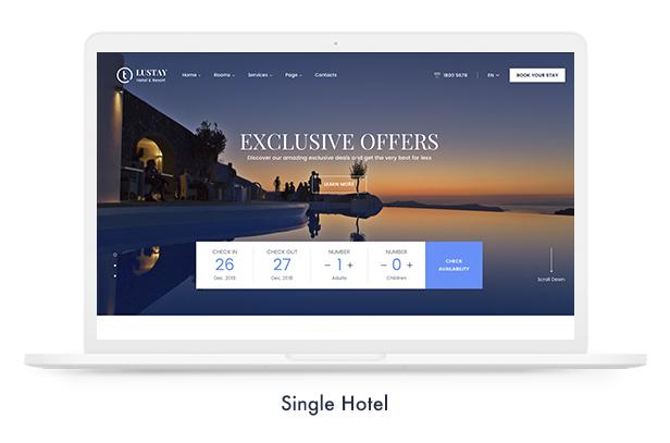 موضوع Travel Booking WordPress - 13