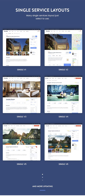 موضوع Travel Booking WordPress - 22
