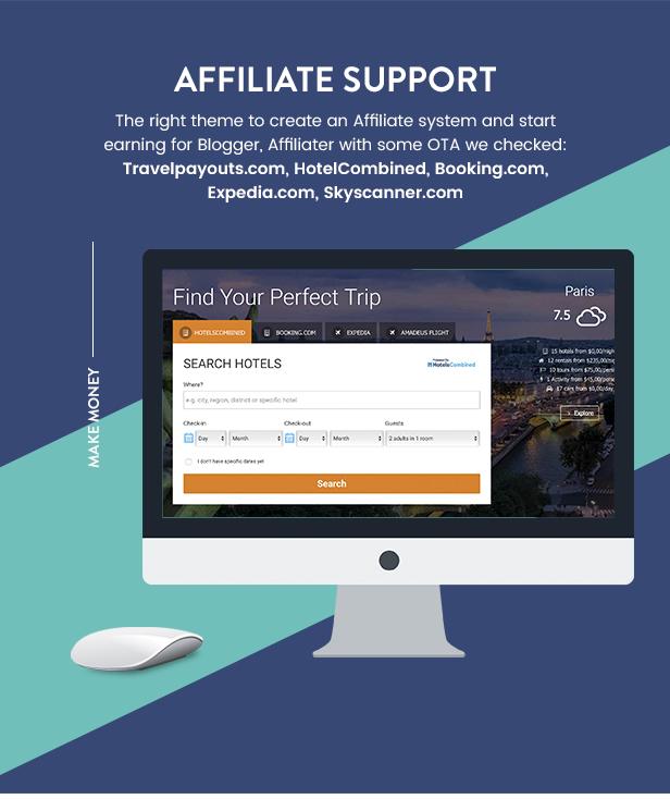 موضوع Travel Booking WordPress - 29