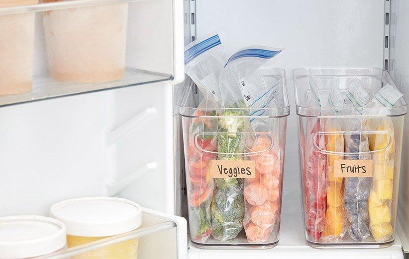افرز الثلاجة بمنظم