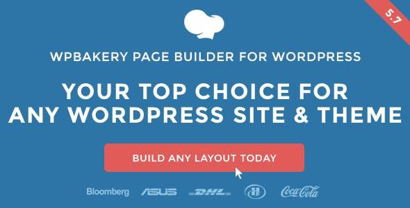 يتضمن WPBakery Page Builder