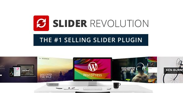 Slider Revolution مستجيب لبرنامج WordPress الإضافي - عنصر CodeCanyon للبيع