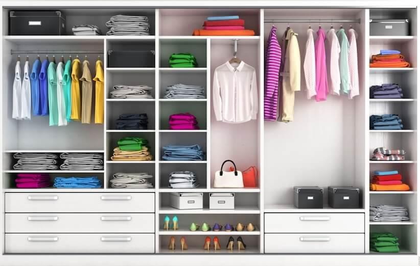 منزل المرحلة - خزانة الملابس