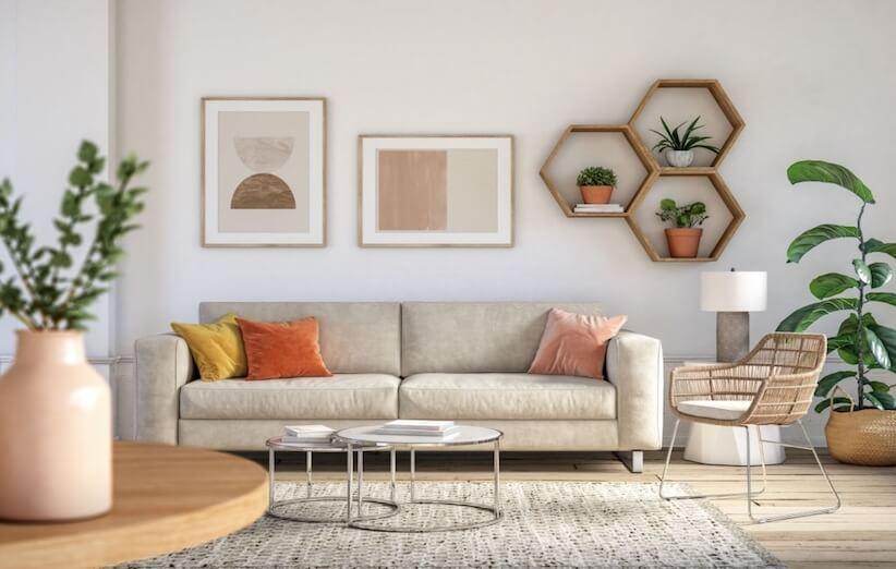 منزل المرحلة - غرفة المعيشة
