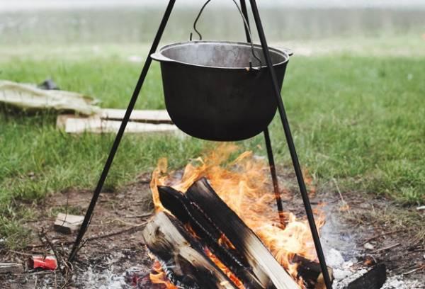 وعاء محترق