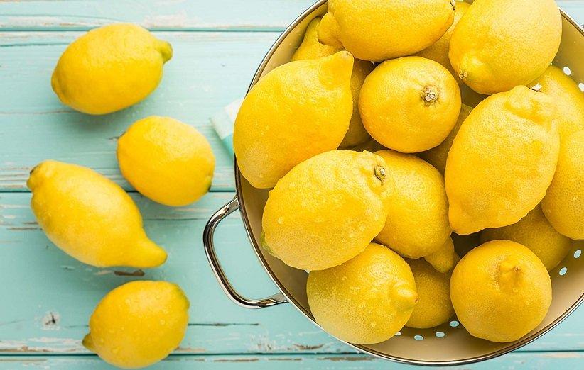 قناع الليمون والزبادي