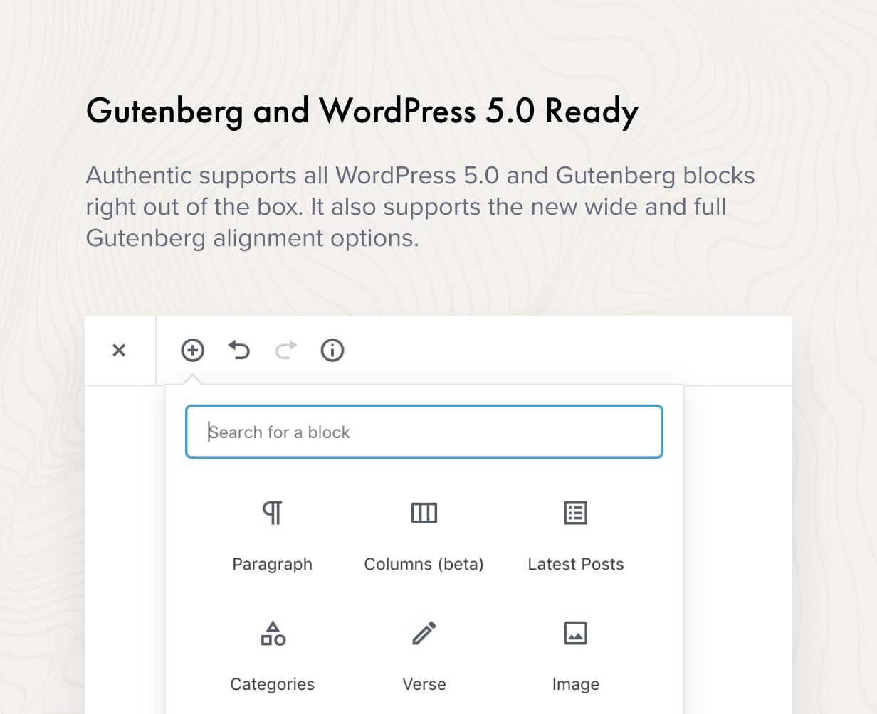 Gutenberg و WordPress 5.0 جاهز